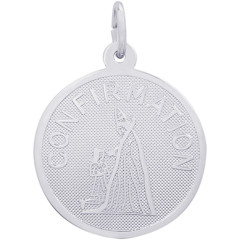 Confirmation Disc Charm