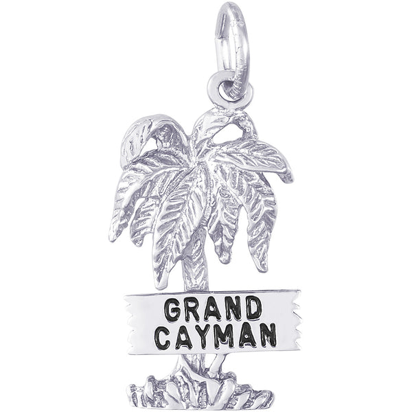 Grand Cayman Palm Tree Charm