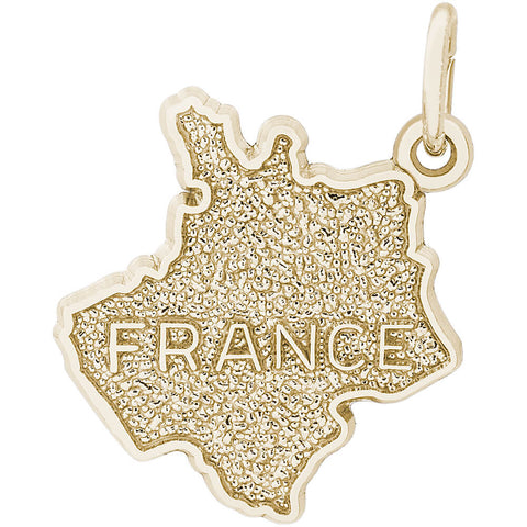 France Map Charm
