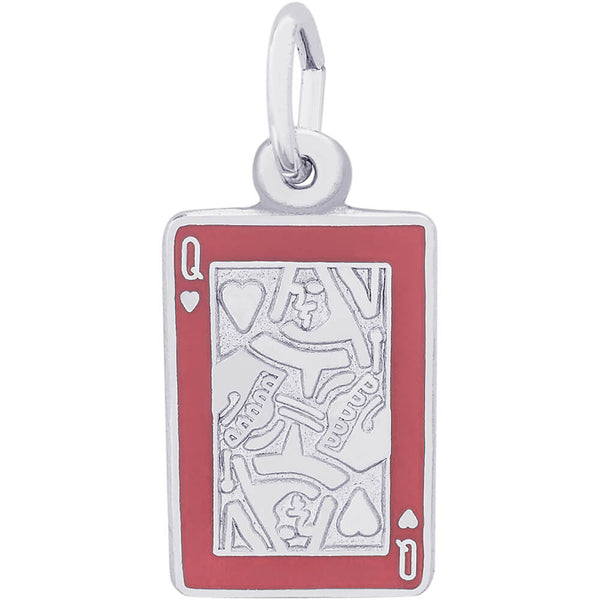 Queen Of Hearts Charm