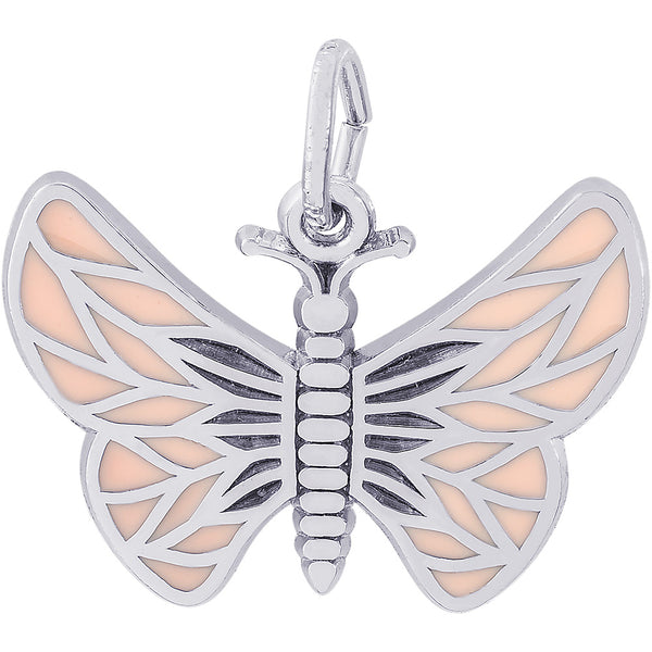Painted Wings Butterfly Charm