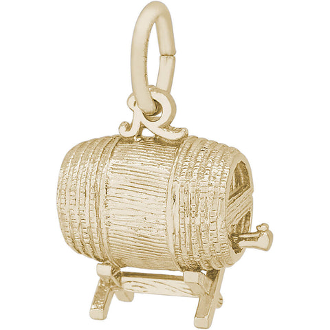 Barrel Keg Charm