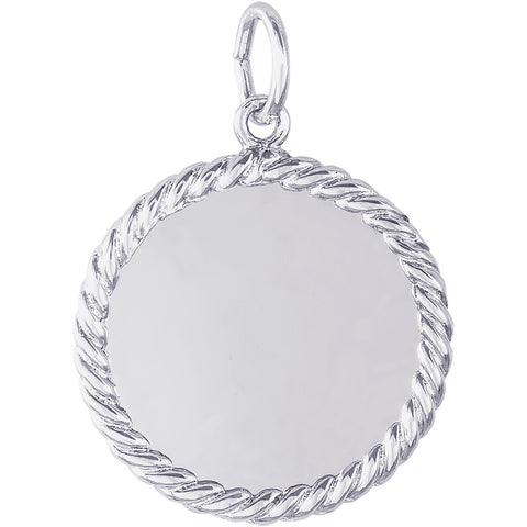 Extra Small Rope Disc Charm
