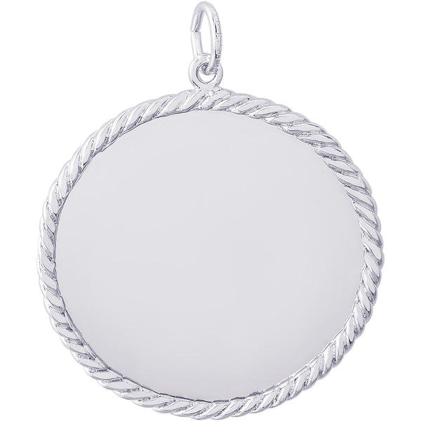Extra Large Rope Disc Charm