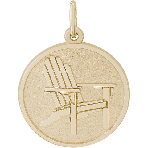 Adirondack Chair Disc Charm