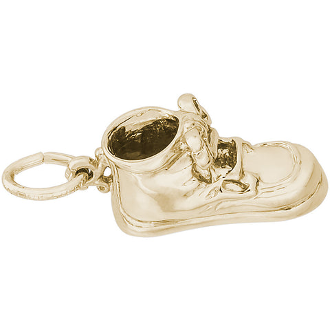 Baby Shoe With Laces Charm