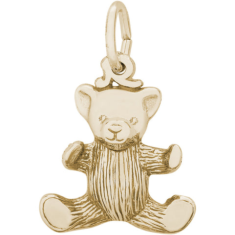 Small Teddy Bear Charm