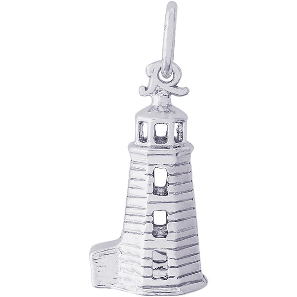Landfall Lighthouse Charm