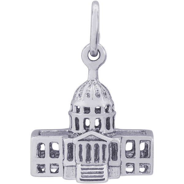 United States Capitol Building Charm