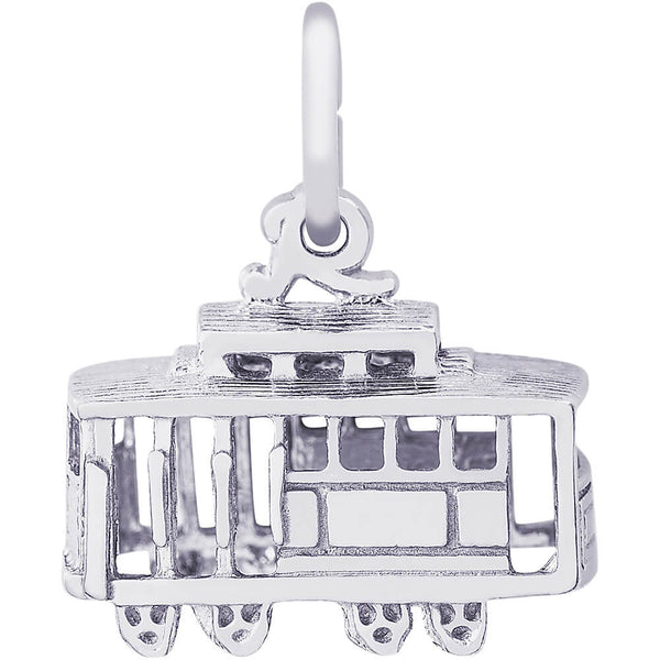 Cable Car Charm