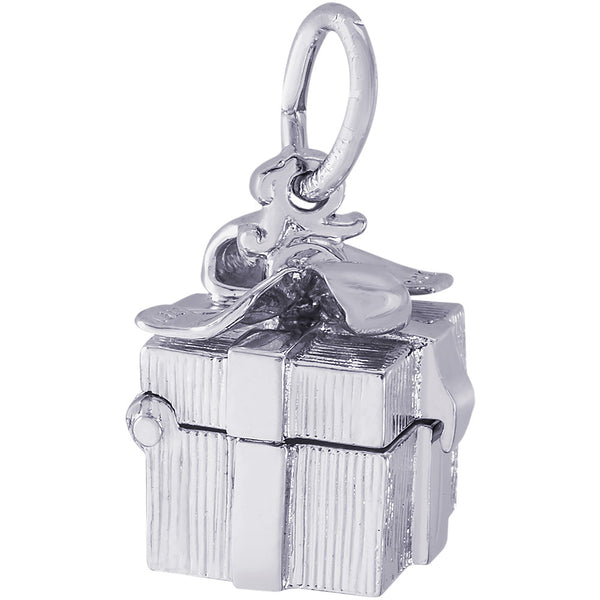 Opening Gift Box Charm
