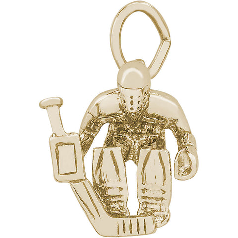 Hockey Goalie Charm