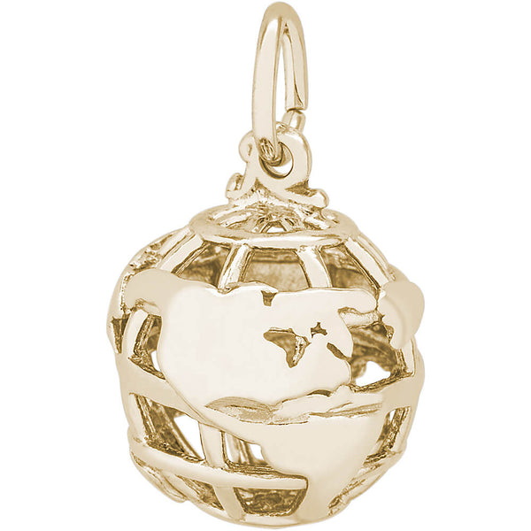 WORLD GLOBE - Rembrandt Charms