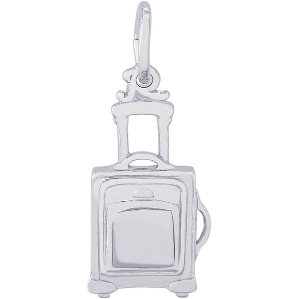 Rolling Suitcase Charm