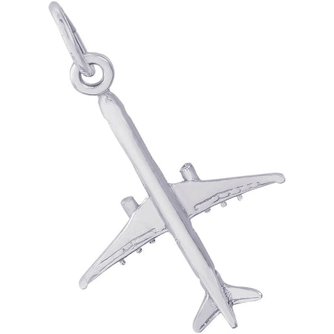 Medium Airplane Charm