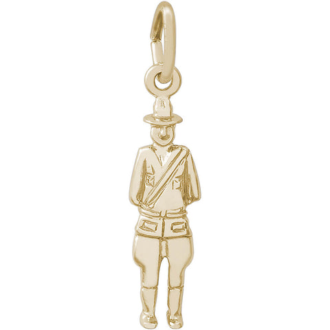 Canadian Mountie Charm