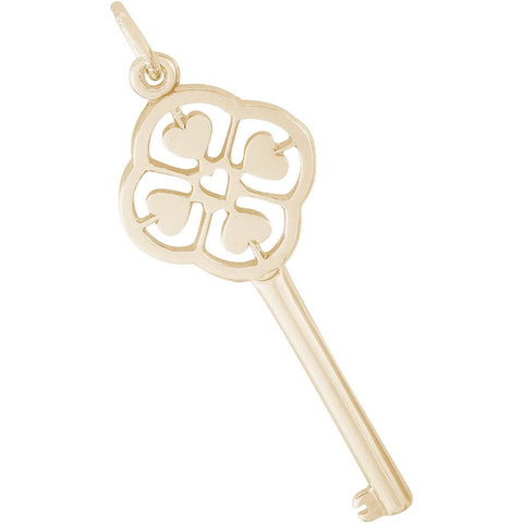 Key To My Heart Charm