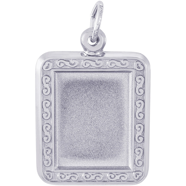Vertical Rectangle Scroll PhotoArt Charm