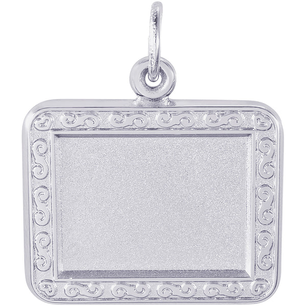 Horizontal Rectangle Scroll PhotoArt Charm