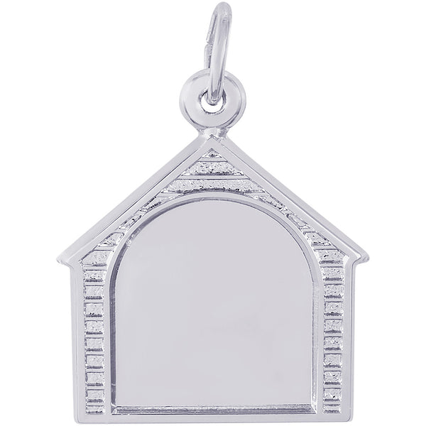 Dog House PhotoArt Charm