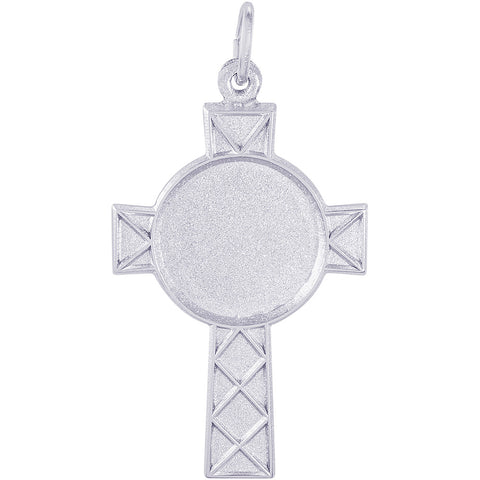 Celtic Cross PhotoArt Charm