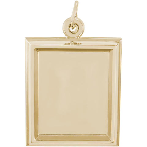 Large Vertical Rectangle PhotoArt Charm