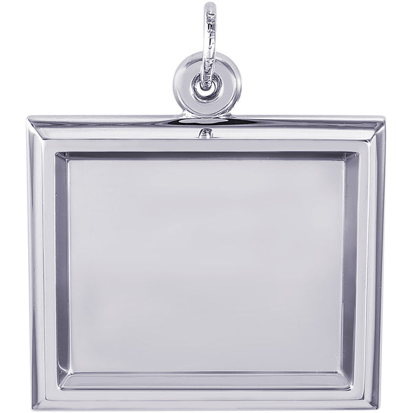Large Horizontal Rectangle PhotoArt Charm