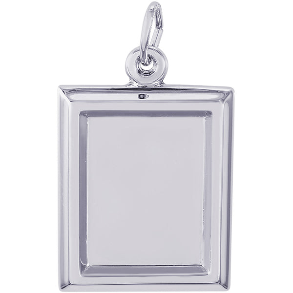 Small Vertical Rectangle PhotoArt Charm