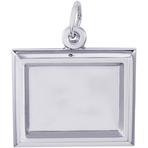 Small Horizontal Rectangle PhotoArt Charm