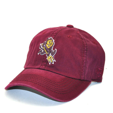 Arizona State Sun Devils Relaxed Fit Cotton Adjustable Hat Sparky