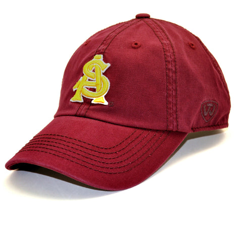 Arizona State Sun Devils Relaxed Fit Cotton Adjustable Hat Maroon