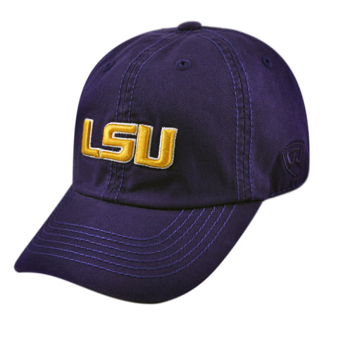 LSU Tigers YOUTH Relaxed Fit Cotton Adjustable Hat