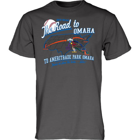 2015 CWS Road to Omaha Tee