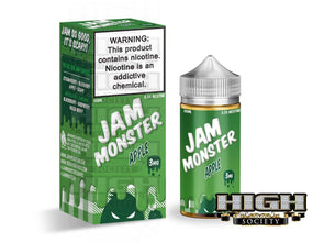 Apple by Jam Monster 100ml - High Society Supply