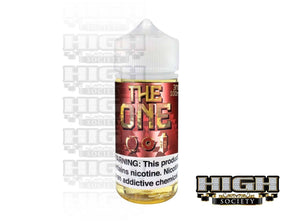 Apple by The One E-Liquid 100ml - High Society Supply