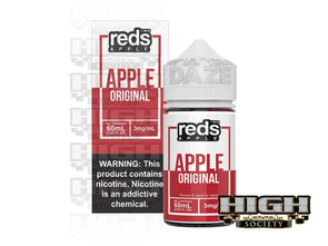 Reds Apple by Reds Apple E-Juice 60ml - High Society Supply