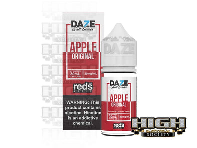 Reds Apple Salt by 7 Daze Salt Series 30ml - High Society Supply