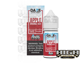 Reds Apple Iced Salt by 7 Daze Salt Series 30ml - High Society Supply