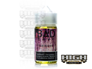 Bad Blood by Bad Drip Labs 60ml - High Society Supply