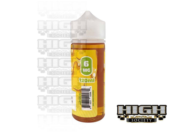 Banana Pudding by Overloaded E-Juice 120ml - High Society Supply