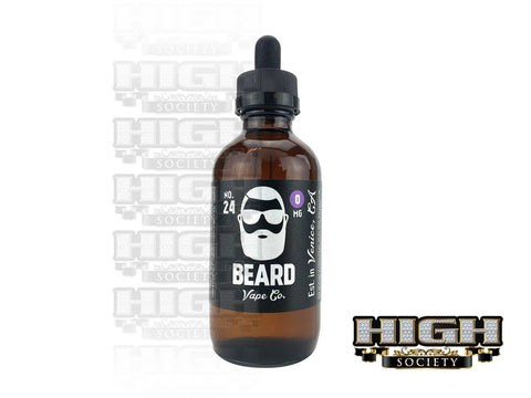 Beard Vape No. 24 EJuice 120ml