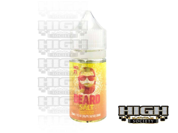 No. 71 by Beard Salt 30ml - High Society Supply
