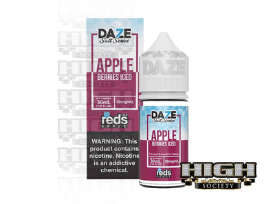 Reds Berries Iced Salt by 7 Daze Salt Series 30ml - High Society Supply