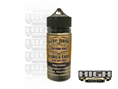 Big League Grape by Uncle Junk's 100ml - High Society Supply