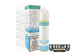 Blue Razz by AQUA Sweets E-Juice 60ml - High Society Supply