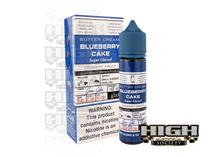 Blueberry Cake by Glas Basix Series 60ml - High Society Supply