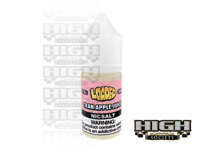 Cran-Apple Juice by Loaded Nic Salt 30ml - High Society Supply