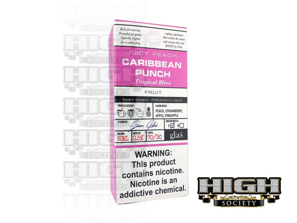 Caribbean Punch by Glas Basix Series 60ml - High Society Supply