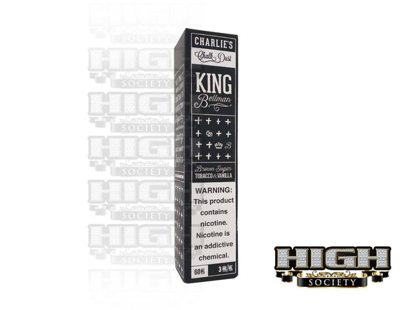 Charlie's Chalk Dust King Bellman 60ml - High Society Supply