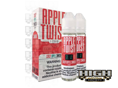 Crisp Apple Smash by Apple Twist E-Liquid 120ml - High Society Supply
